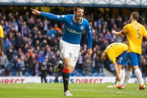 haris vuckic scores against Cowdenbeath