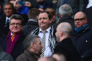mike ashley not happy
