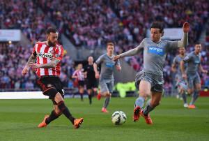 Daryl Janmaat +Sunderland+v+Newcastle+United+Sk_PClNmzahl