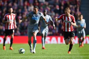 Jonas Gutierrez  Sunderland 1-0 defeat