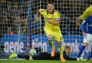 john terry scores seconmd at leciseter