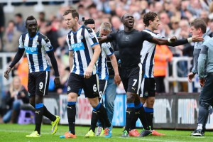 Moussa Sissoko after scoring first goal