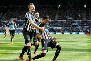 ayoze perez scores against west brom
