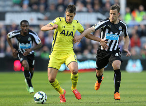 ryan taylor in action against spurs