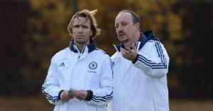 zenden with Rafe Benitez