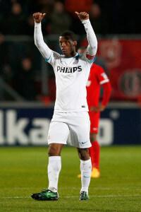 Georginio Wijnaldum  in white +FC+Twente+v+PSV+Eindhoven+qM_lhCm4cqml