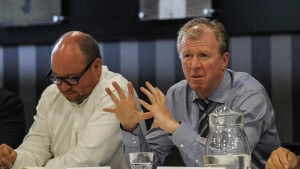 Lee charnley and steve mcClaren