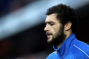 charlie austin in tracjsuit