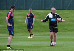 curtis good steven taylor steve mcclaren training