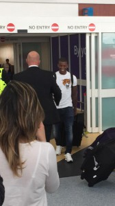georginio wijnaldum at airport