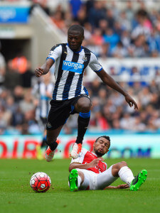 Chancel Mbemba Coquelin +Newcastle+United+v+Arsenal+tbIFjW8mxZsl