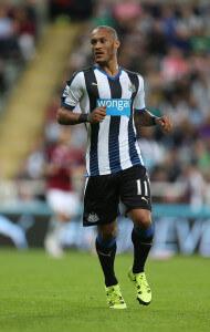 Yoan Gouffran +Newcastle+United+v+Northampton+A4QRupYSitMl