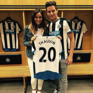 florian thauvin with partner