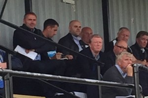 steve mcclaren at ivan toney debut u21