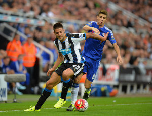 Aleksandar Mitrovic +Newcastle+United+v+Chelsea+H-rpYU6jJi7l