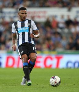 Jamaal Lascelles +Newcastle+United+v+Northampton+Om1LbhLcD12l