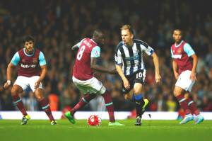 Siem De Jong at West+Ham+United