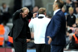 Steve McClaren Beaten by Owls