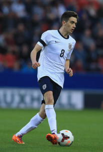 alex gillieaden engaldn u18 vs germany