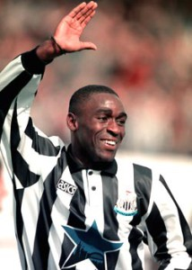 andy cole at newcastle