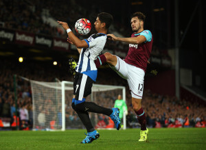 ayoze perez at west ham 2-0