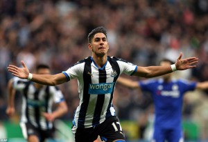 ayoze perez scored first goal