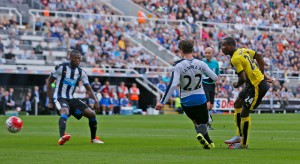 odion ighalo scores first goal