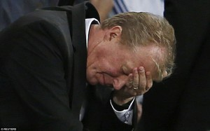 steve mcclaren - cheslea had just equalized