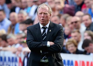 steve mcclaren on touchline watford