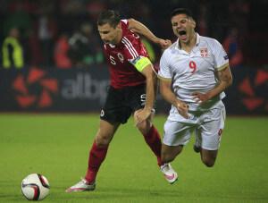 Aleksandar Mitrovic +Albania+v+Serbia+UEFA+90eebWpLFzml