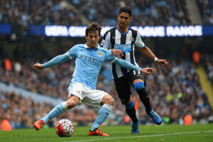 Ayoze Perez + david silva Manchester+City+v+Newcastle+United+ahPjQzlgz59l