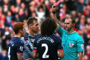 coloccini red card sunderland