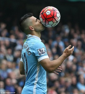 sergio aguero five goals