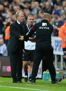 steve mcclaren alex neil at end of game