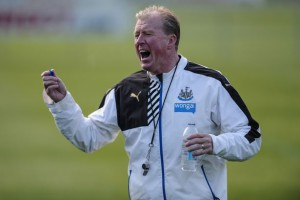 steve mcclaren on trianing filed