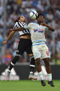 Michy Batshuayi +Olympique+de+Marseille+v+Juventus+g_Vir1NlYFAl