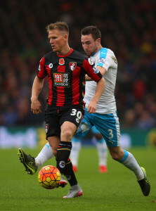 Paul Dummett Matt Ritchie at Bournemouth