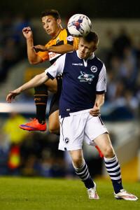 Shane Ferguson +Millwall+v+Barnet+Capital+One+KNsAm_A_P47l