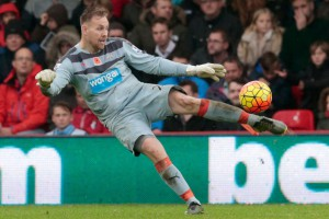 rob elliot saves again bournemouth