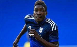 Sammy Ameobi Cardiff City Close Up