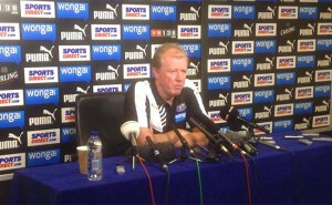 Steve McClaren Press Conference Newcastle United