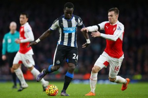 cheick tiote aaron ramsey