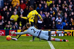 odion ighalo scores Wastford first goal