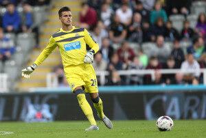 Karl+Darlow+Newcastle+United+v+Northampton+IoO5ihVgktnl