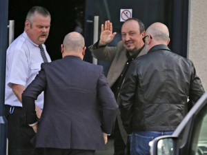 Rafael-Benitez arrives at Benton