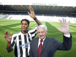 patrick kluivert sir bobby robson