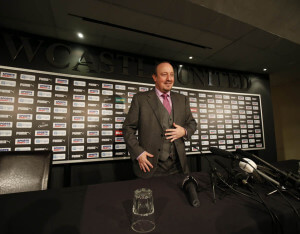 rafa benitez press confernce 1