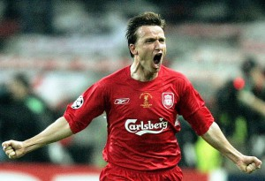 vladimir smicer scores for liverpool