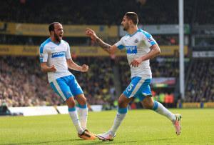 Andros+Townsend+Norwich+City+v aleksandar mitrovic +Newcastle+United+luBF0OToarfl