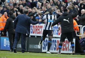 a sissoko scores first goal of season